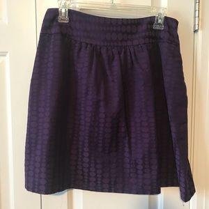 The Limited purple full skirt